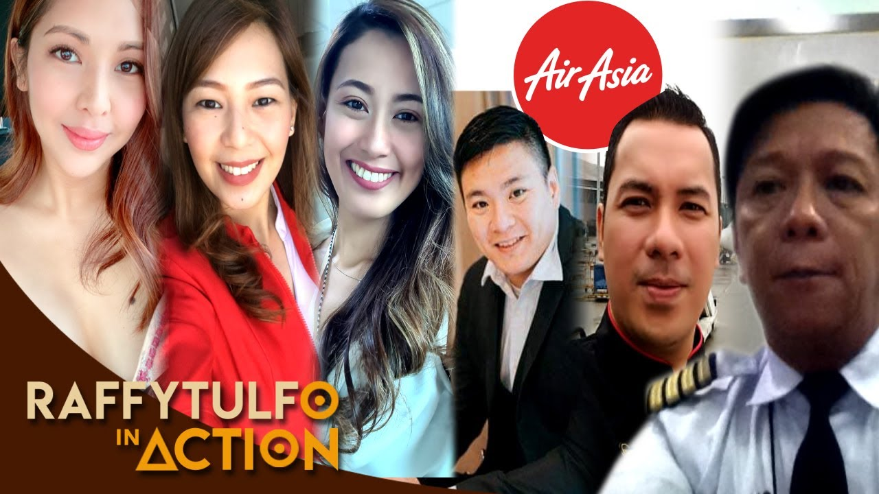 PART 2 | MGA PILOTO AT FLIGHT ATTENDANT NG AIR ASIA NAGPA-TULFO!