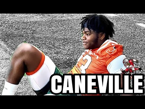 Caneville -  Miami Hurricanes Spring Practice Day 1