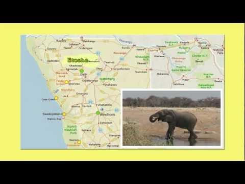 Op Safari in Namibië en Botswana