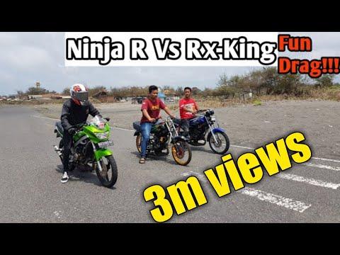 Ninja 150 R Vs Rx-King Sang Raja Jalanan👑.....