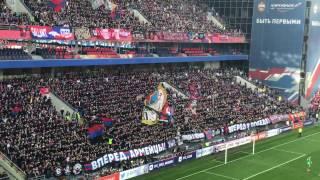 ЦСКА -СПАРТАК (30.04.17) фанаты ЦСКА