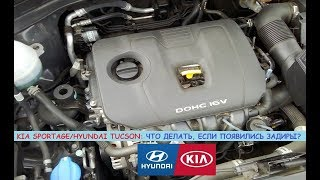 Kia Sportage/Hyundai Tucson: задиры в двигателе - что делать