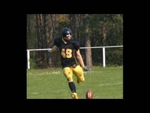 Bjoern Werner Berlin Adler Defense End Nr. 49 Highlight Tape Jugend