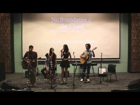 """COMMUNITY"" - No Boundaries / The Climb"