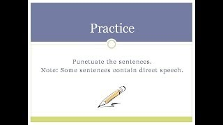 English Writing Skills 4: Apostrophes and Commas (Part 2 of 2)