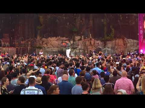 "Guy Sebastian ""Bloodstone"" - Australia Day concert - Sydney 26 Jan 2018"