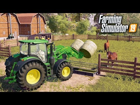 FS19- ADDING HORSE POWER TO THE FARM! HORSE TRAINING BUSINESS | EP #4