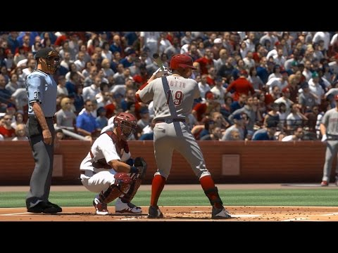 MLB The Show 17 - Cincinnati Reds vs St. Louis Cardinals | Gameplay (PS4 Pro HD) [1080p60FPS]