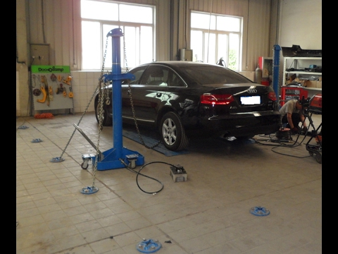 Floor fixing system–Auto collision repair