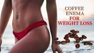Coffee Enema for Weight Loss at www.CoffeeEnemaAddict.com