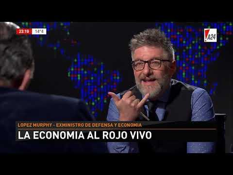 LNE | LUIS NOVARESIO ENTREVISTA - RICARDO LÓPEZ MURPHY