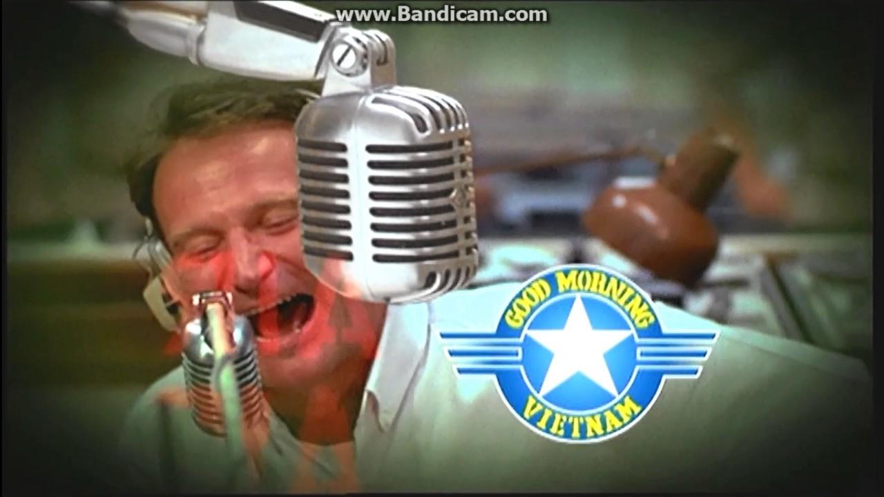 Good Morning Vietnam Playlist : Sequenza d apertura good morning vietnam dvd youtube