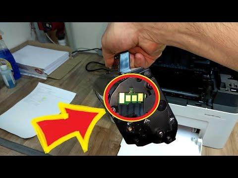 Как отключить чип HP Laser MFP 135 / 137