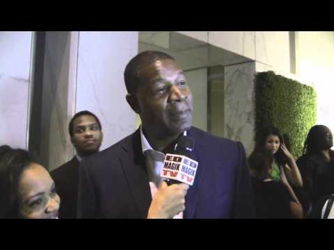 Dennis Haysbert Interviewed at 43RD NAACP IMAGE AWARDS NOMINEES PRE-SHOW GALA RECEPTION