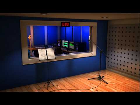 virtual set recording studio youtube. Black Bedroom Furniture Sets. Home Design Ideas