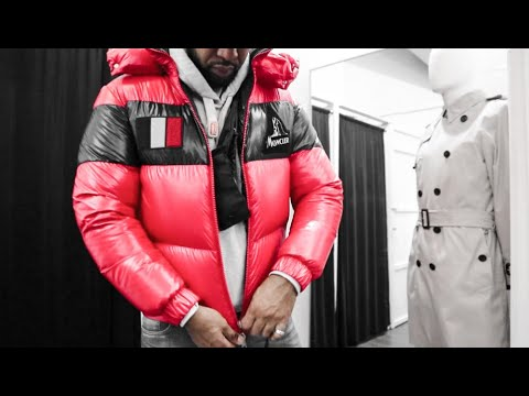 I TRIED ON BALENCIAGA, MONCLER, OFF WHITE, STONE ISLAND AT DESIGNER POP UP STORE 😍😍| STORE TOUR