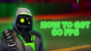 How To Get 60 FPS On Fortnite Mobile [iPhone 8 And Below]