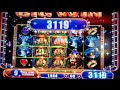 The King and the Sword Slot Machine Bonus - 10 Free Games with Stacked Wilds - Nice Win