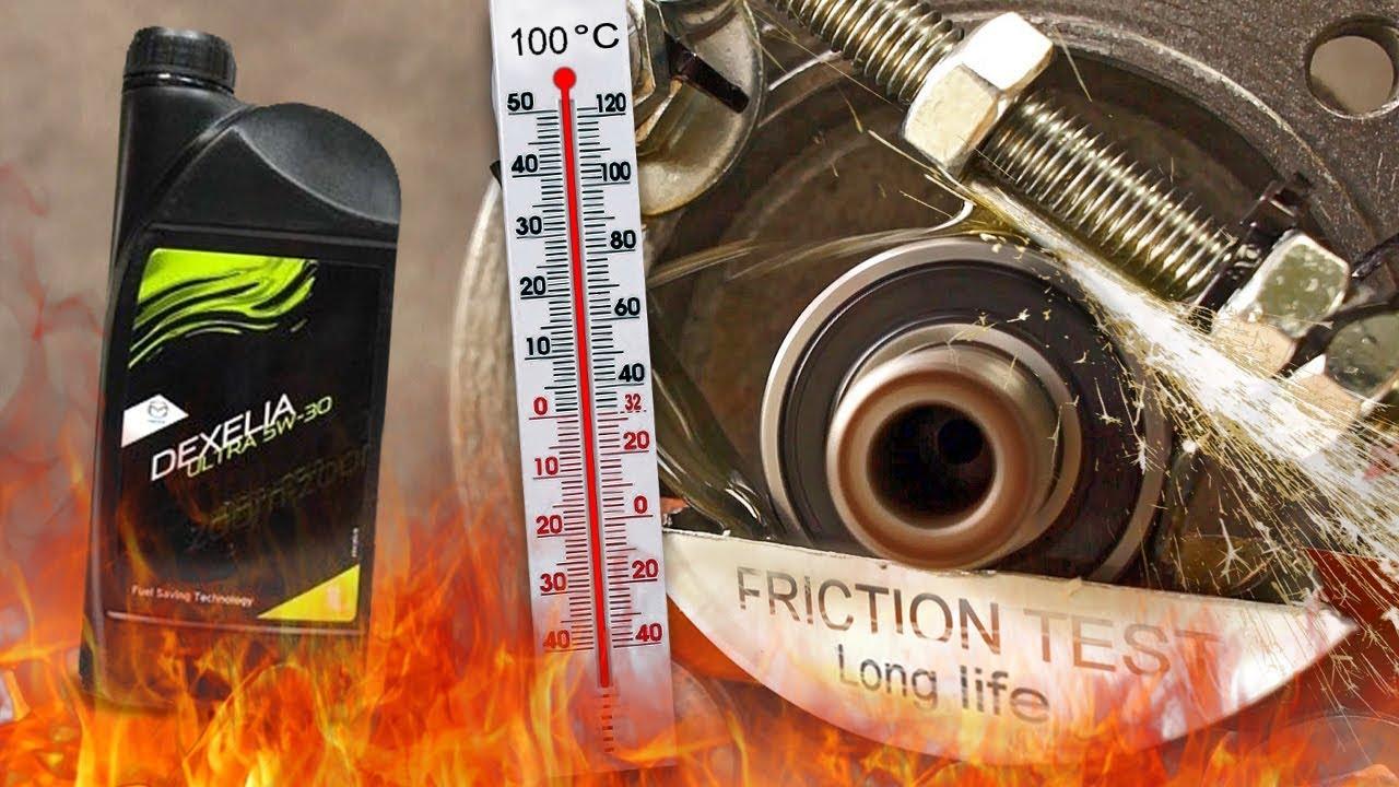 mazda dexelia ultra 5w30 jak skutecznie olej chroni silnik? 100°c