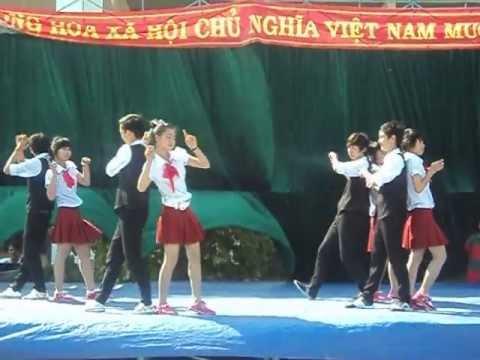 Clip nhảy Hoa nắng và Xe Đạp  - 12A1 TQT - Phú Thiện,Gia Lai