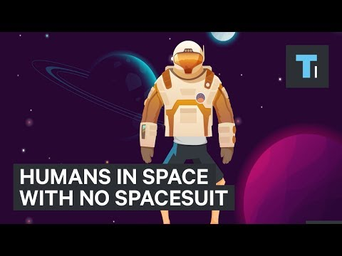 Here's how long humans could survive in space without a spacesuit