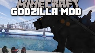 Minecraft GODZILLA VS KING KONG MOD / LET THE BEASTS FIGHT AGAINST EACH OTHER!! Minecraft
