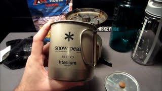 The Snow Peak Titanium Single Wall Cup 600