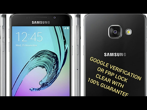 SAMSUNG A310 2017 A510 S7 S7 EDGE BYPASS THE FRP LOCK AND GOOGLE ACCOUNT VERIFICATION