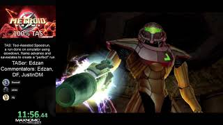 Metroid Prime 100% TAS by Edzan [commentated]