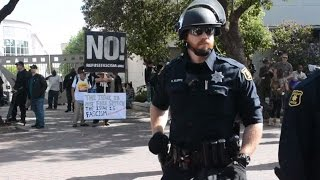 Arrests at Berkeley after Ann Coulter cancels visit