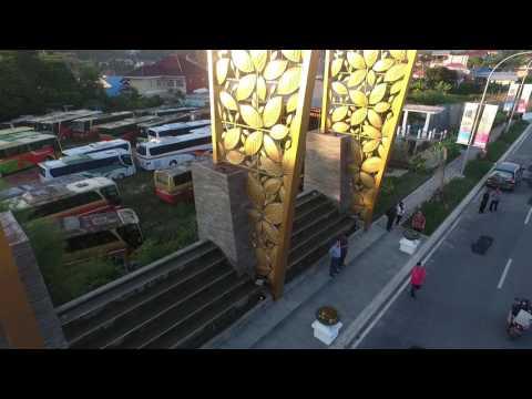 VIDEO Kemegahan Gerbang Utama Grand City, Ikon Baru Kota Balikpapan