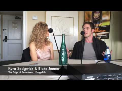 'The Edge of Seventeen' Interview | Kyra Sedgwick & Blake Jenner