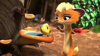 Лео и Тиг помогают малышам – сборник - все серии сразу -   Про животных - Лео и Тиг
