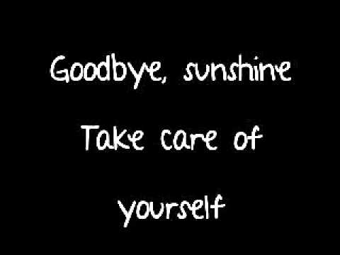 Avril Lavigne - Goodbye Lyrics (Full Song On Screen and Description/Last song on album)