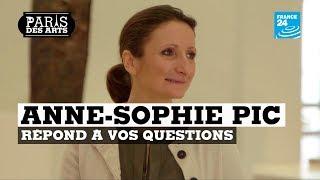 La chef Anne-Sophie Pic a répondu à vos questions