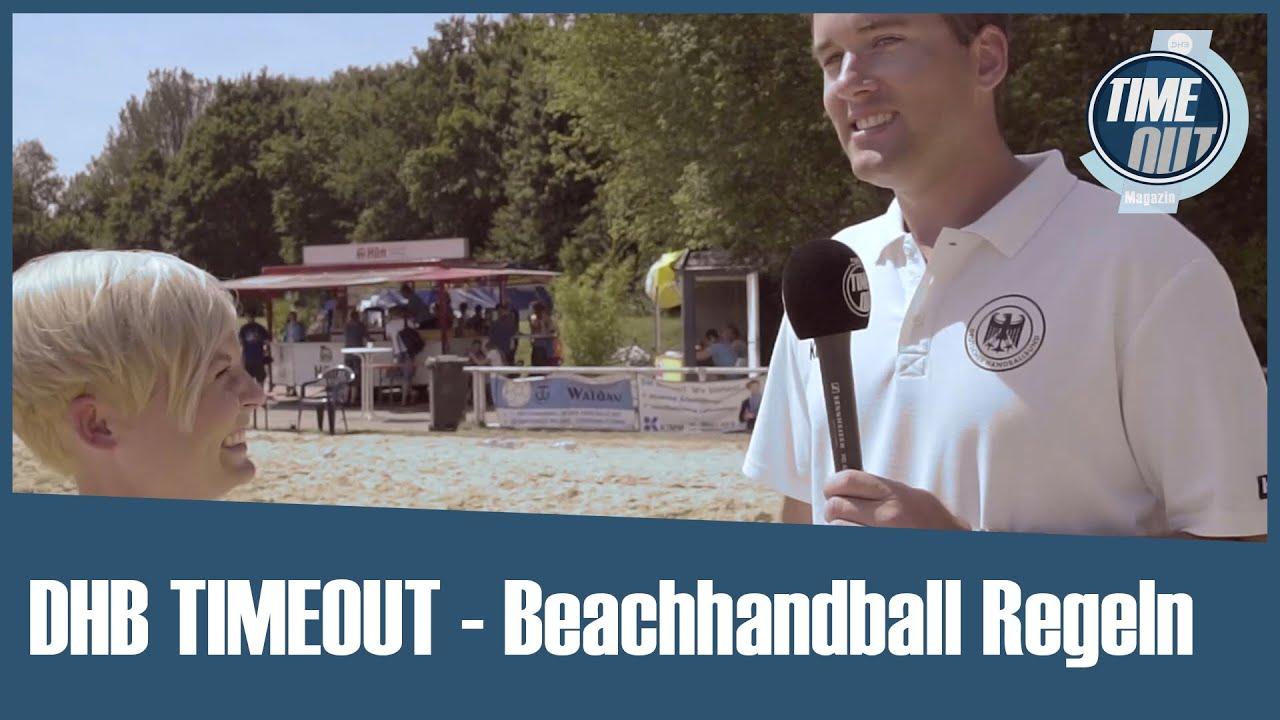 DHB TIMEOUT - Beachhandball Regeln