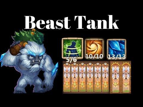 Tankiest Sasquatch Ever | Zephy's Attack  Keeps Him Alive | Castle Clash