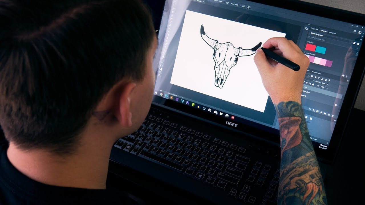 Best Drawing Tablet With Screen Under 450 Youtube