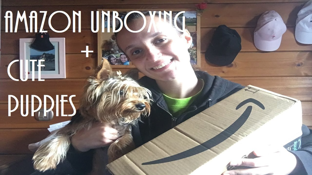 Amazon unboxing, cute puppies and new hobbies :) #VLOGep3 | Pat