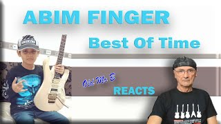 Abim Finger Covers Dream Theater - Best of Time (Reaction)
