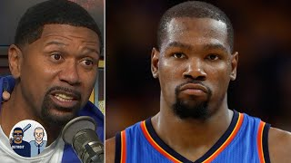Jalen Rose reacts to KD defending his legacy to Kendrick Perkins | Jalen & Jacoby