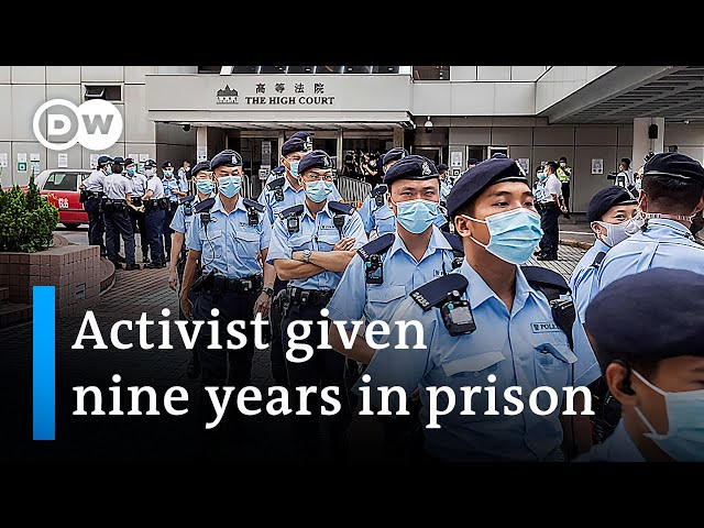 Hong Kong: 9 years jail in first national security case | DW News