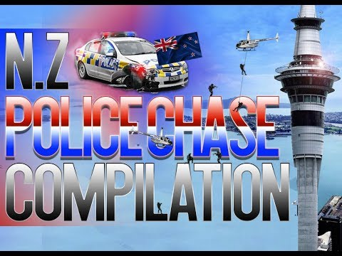 Nz Police Chase Compilation (New Zealand)