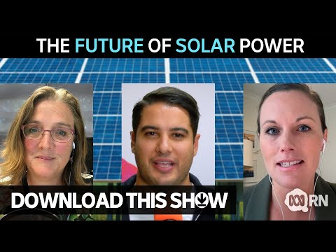 The future of solar power | Download this Show