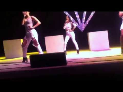 Fifth Harmony - Miss Movin' On & BO$$ at Palmdale, CA (July 19th, 2014)
