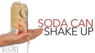 Soda Can Shake Up - Sick Science! #142