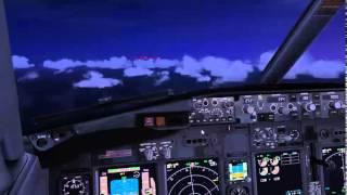 FSX Полет строем на Boeing 738