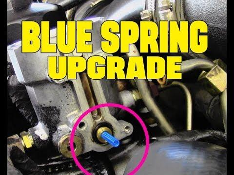 6.0L Powerstroke Diesel BLUE Spring Upgrade | Full How To Video + Fuel Leak Footage