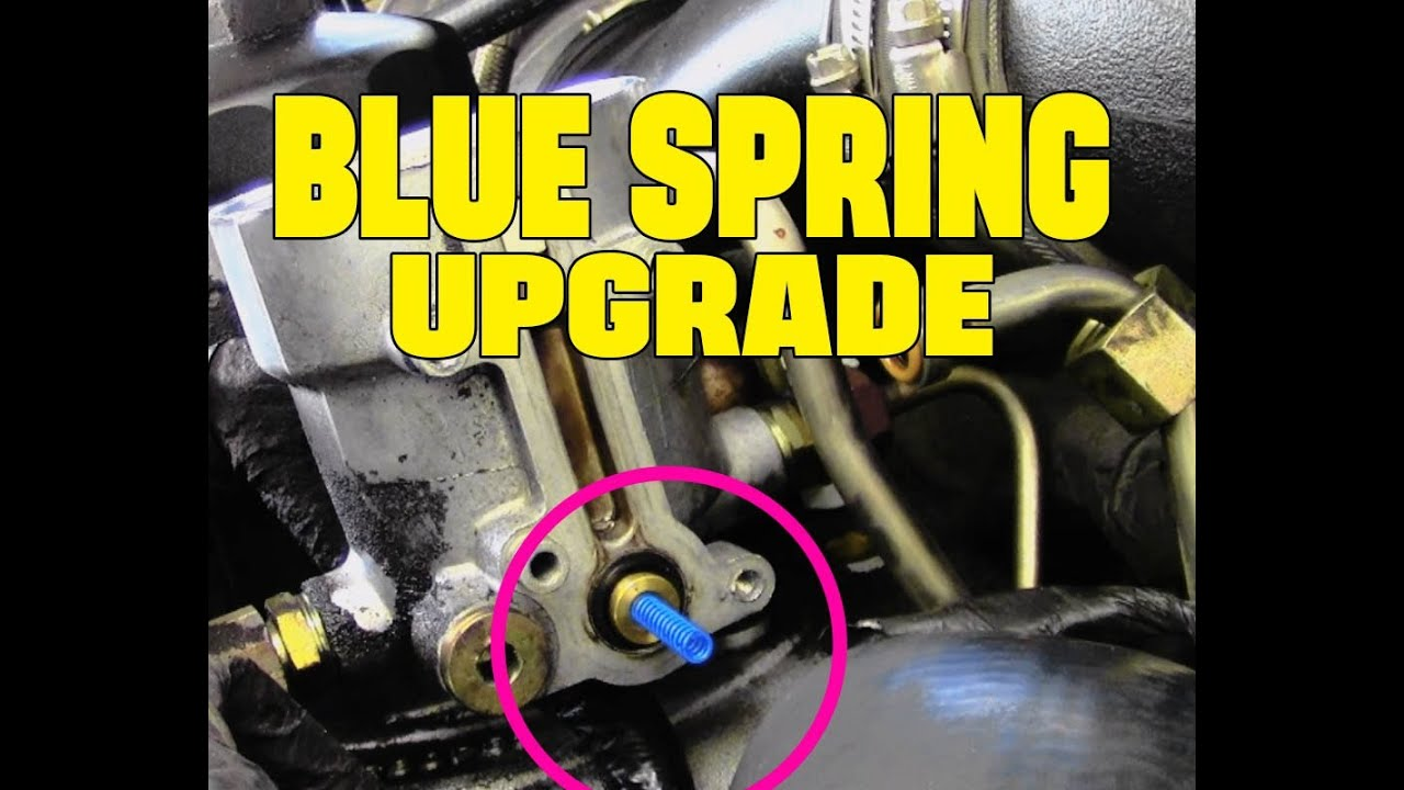 medium resolution of 6 0l powerstroke diesel blue spring upgrade full how to video6 0l powerstroke diesel blue spring