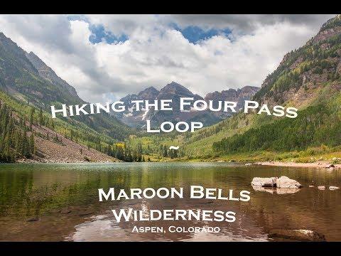 Hiking The Four Pass Loop - Maroon Bells Wilderness